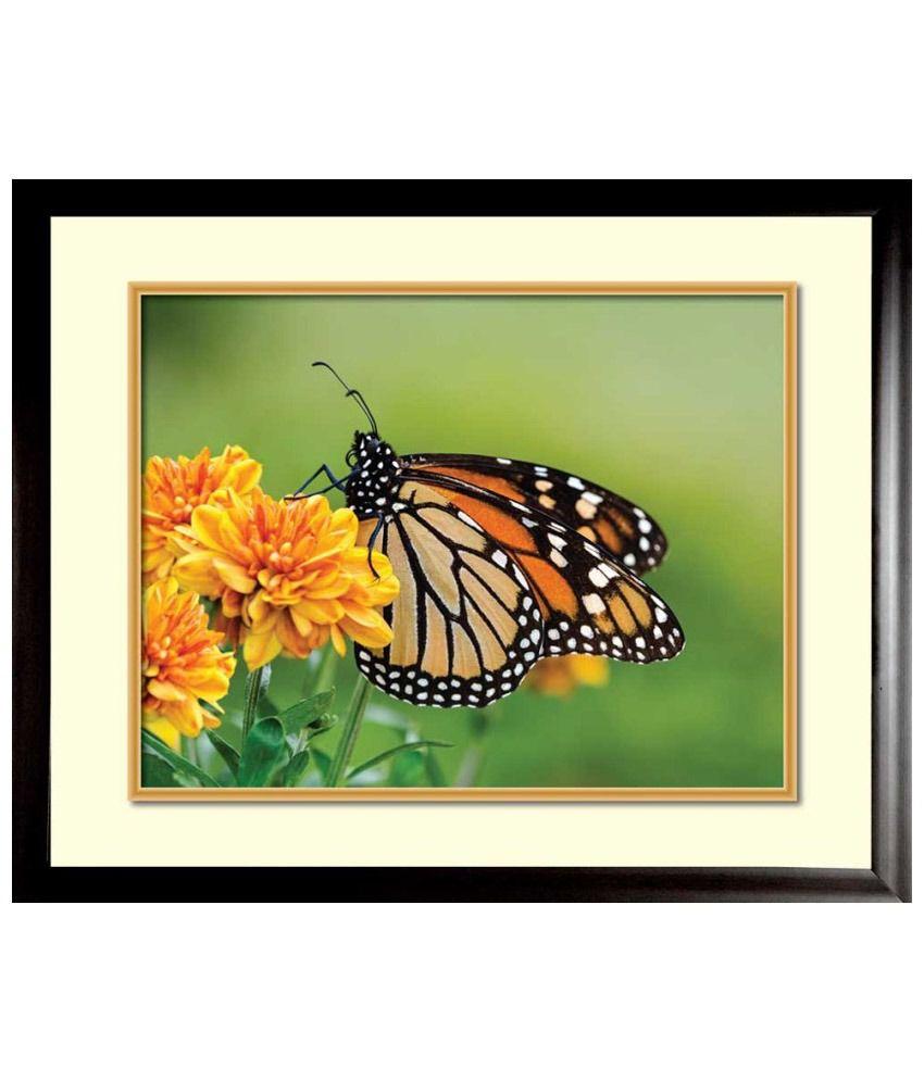 Mataye Graphics Floral Paintings - Set of 5