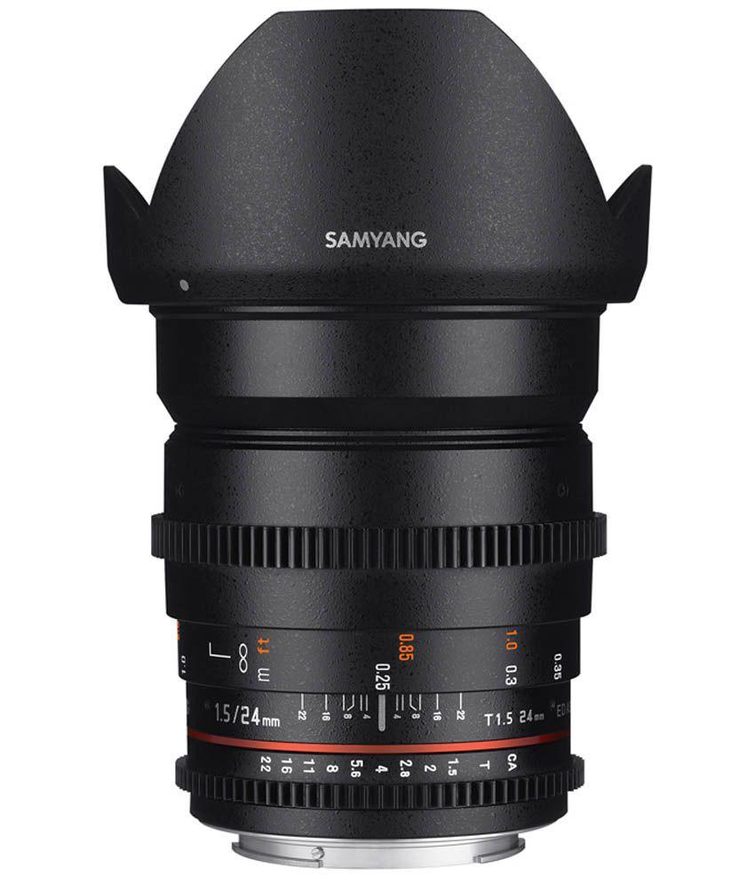 Samyang 24mm T1.5 VDSLR II Sony Lens