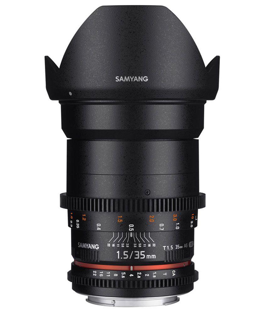 Samyang 35mm T1.5 VDSLR II Sony Lens
