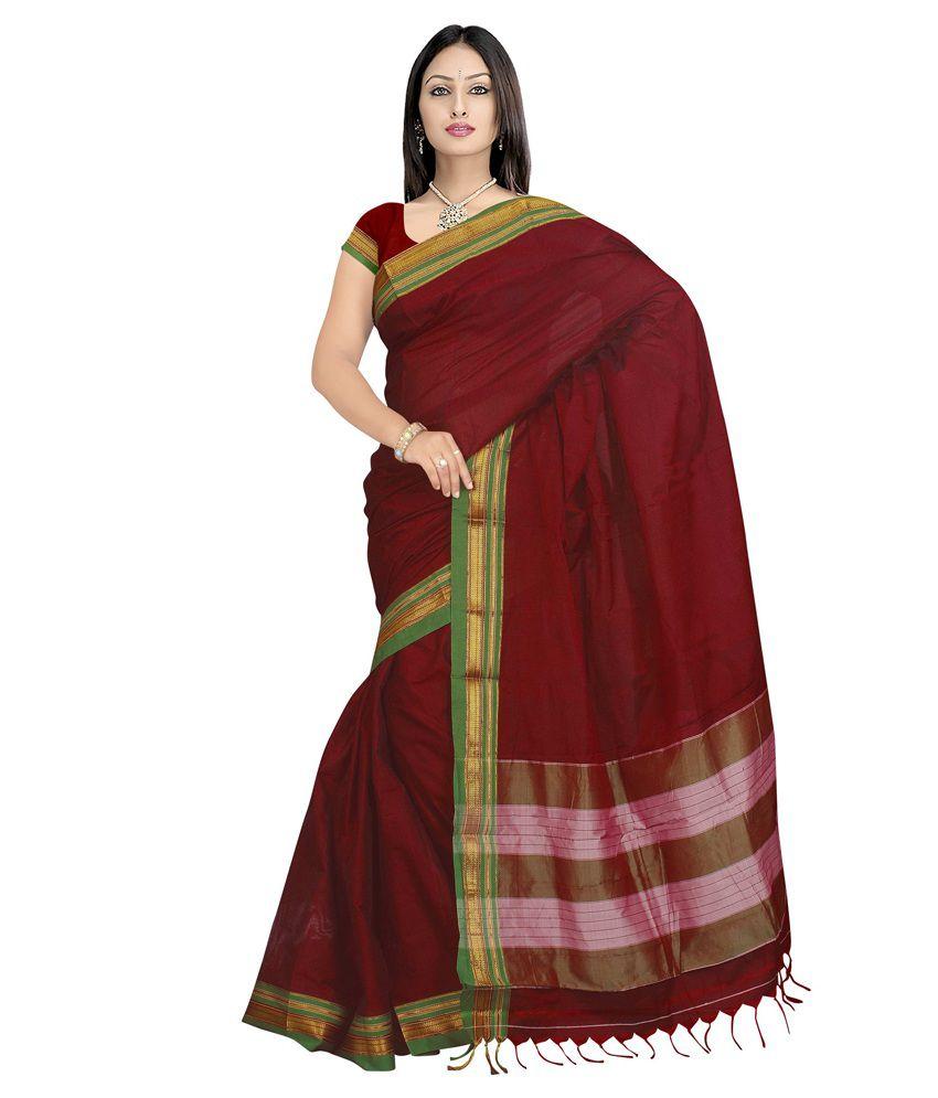 b8720a608 Harsh Sarees Plain Ilkal Cotton Saree - Buy Harsh Sarees Plain Ilkal Cotton  Saree Online at Low Price - Snapdeal.com