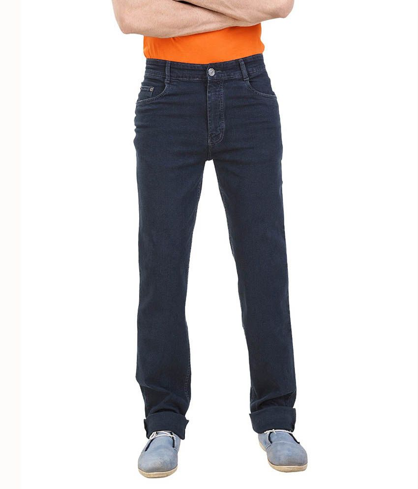 Lenox Blue Regular Fit Jeans