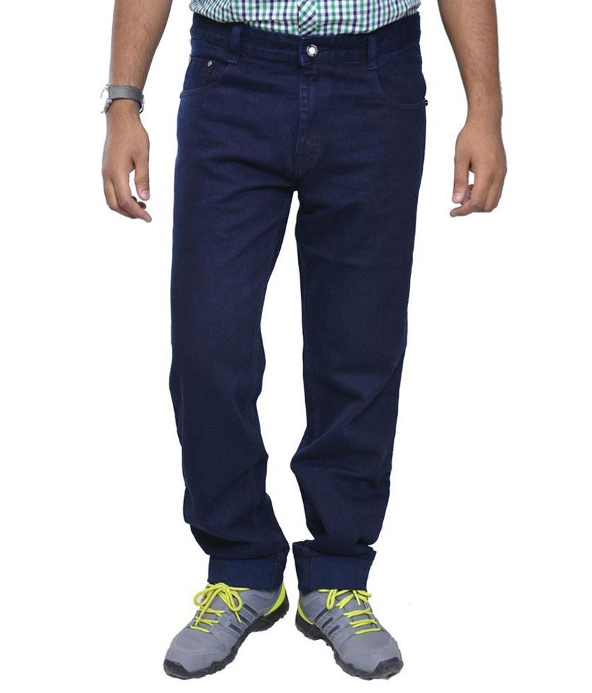 Masterly Weft Blue Regular Fit Jeans