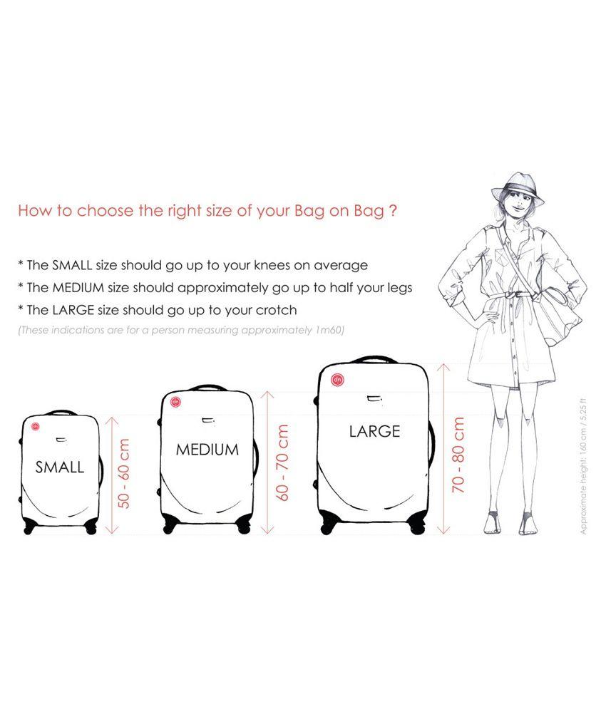 15b3ffbe American Club 4 Wheel Teflon Trolley Bag in Black Color - Buy ...