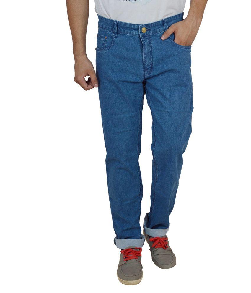 Studio Nexx Blue Regular Fit Jeans