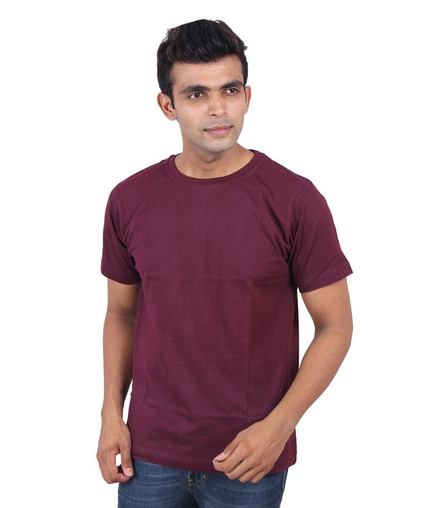 Antidott Purple Cotton T-Shirt - Set of 3