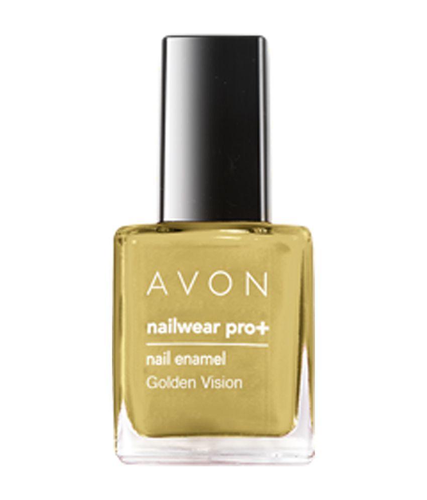 Avon Chrome Nail Powder: AVON New York Avon Nailwear Pro Plus Sizzling Red Nail