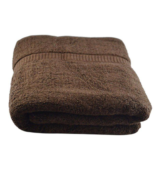 Juvenile Single Cotton Bath Towel - Brown - Buy Juvenile Single ...