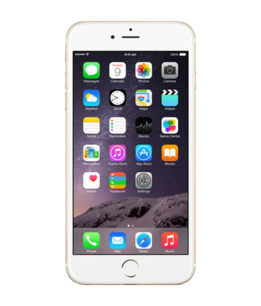 Apple iPhone 1.2 MP Front Camera 6 Plus 64 GB Smartphone - White and Gold