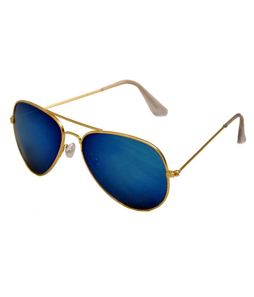 Praise Sg013 Blue Aviator Sunglasses
