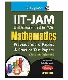 IIT-JAM: M.Sc. (Mathematics) Previous Papers & Practice Test Papers (Solved)