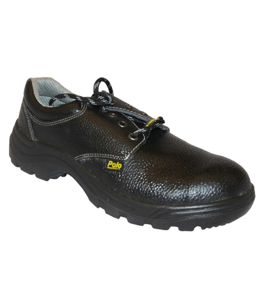buy frontier black safety shoes at low price in