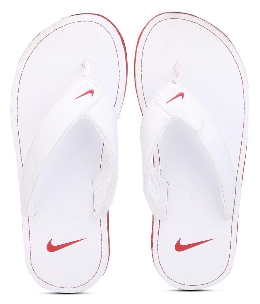 online retailer 638bf 0c0e2 Nike Chroma Thong Ii White Slippers