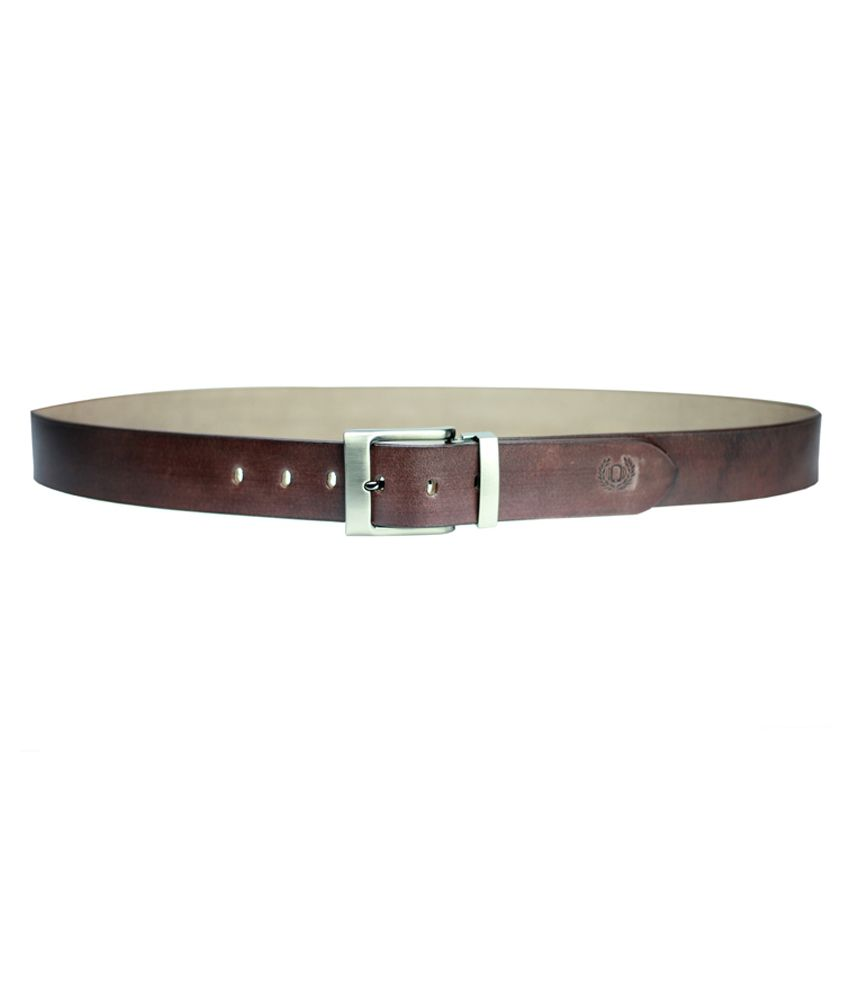 99cells Brown Leather Belt
