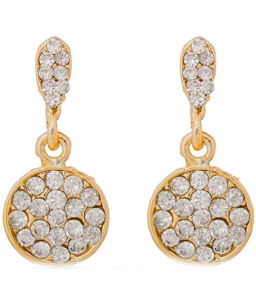 The Luxor American Diamond Studded Designer Earrings