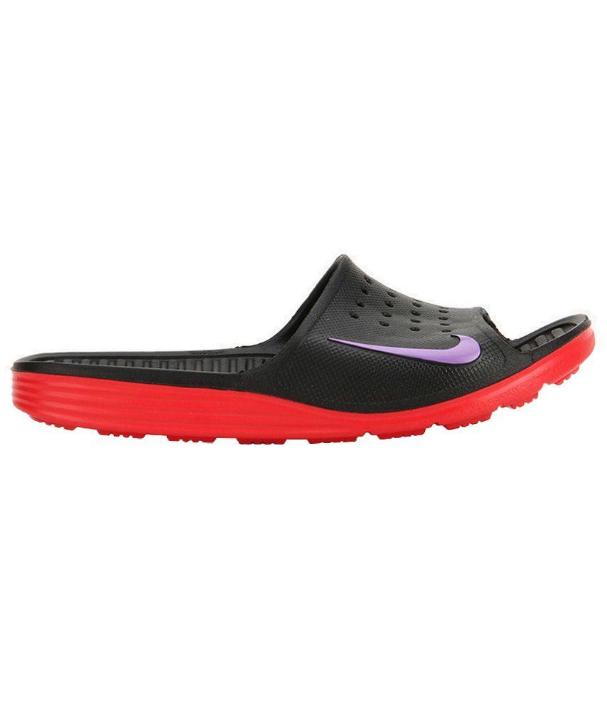 84413ac62bd6 Nike Solarsoft Slide Black Slippers Nike Solarsoft Slide Black Slippers ...