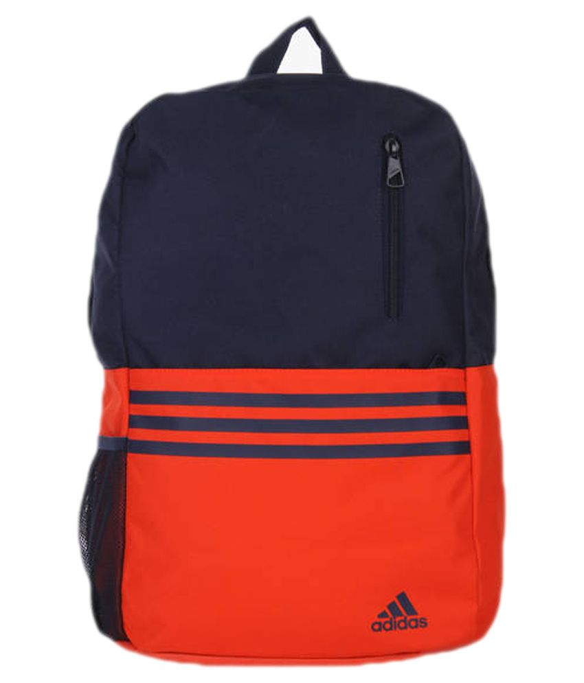 0e9cb984b4 Adidas Versatile 3S Orange and Navy Blue Polyester Backpack - Buy Adidas  Versatile 3S Orange and Navy Blue Polyester Backpack Online at Low Price -  Snapdeal