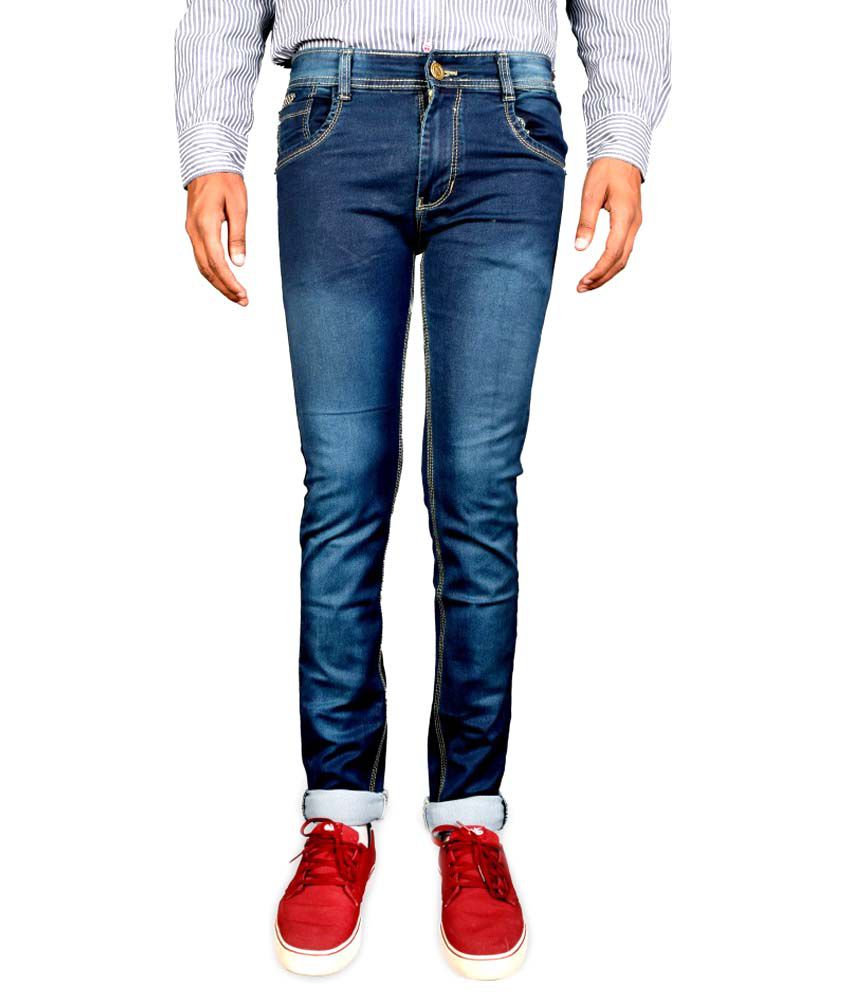G-20 Blue Slim Fit Jeans