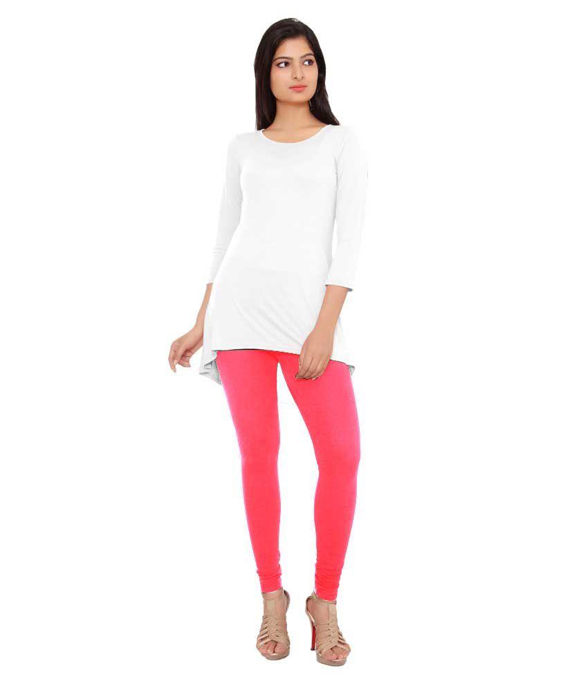 Tinge of Colors White Viscose Tunics
