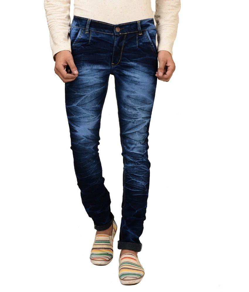 Brandvilla Blue Slim Fit Jeans