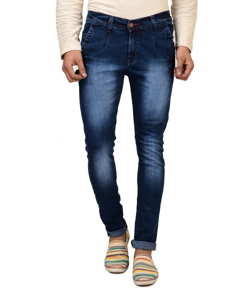 Brandvilla Blue Slim Fit Jeans