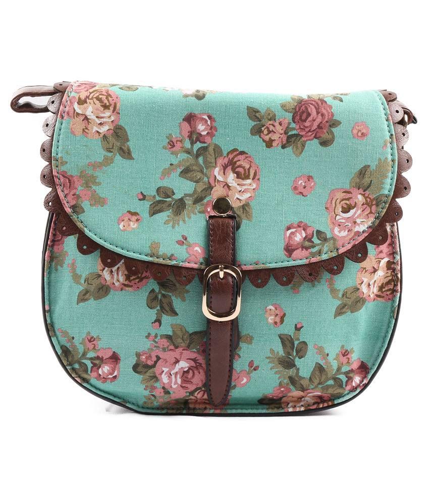 Heaven Deal Multicolour Sling Bag