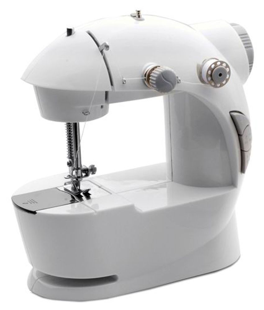 Electrical Sewing Machine : Dyna white mini electric sewing machine price in india