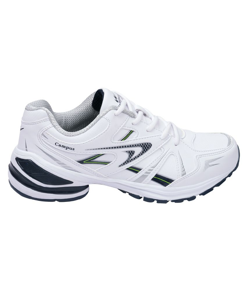Campus Milford White Sports Shoes - Buy