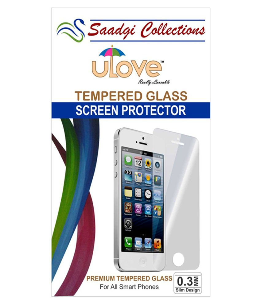 Moto X2 Tempered Glass Screen Guard by Saadgi Collections