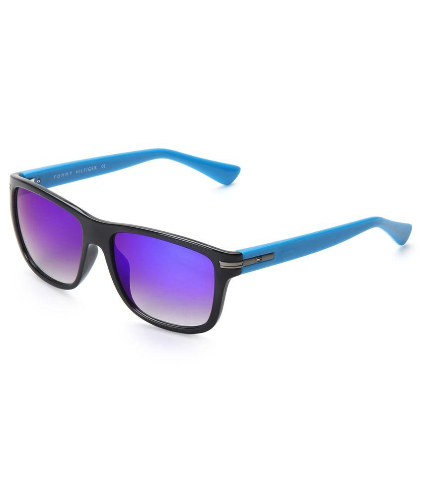 TOMMY HILFIGER Th 801 C4 Black Wayfarer Sunglasses