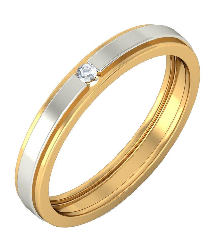 BlueStone 18kt Yellow Gold Cosma Ring For Him