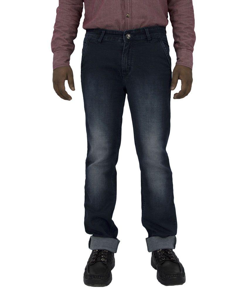 Just Think Blue Regular Fit Jeans