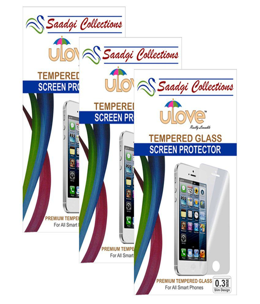 Moto E Tempered Glass Screen Guard by Saadgi Collections