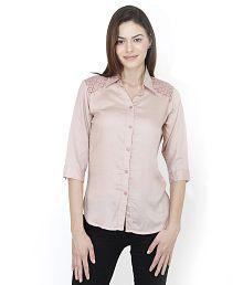 Mayra Pink Rayon Shirts