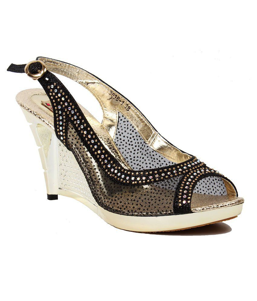 Foot Candy Black Sandals