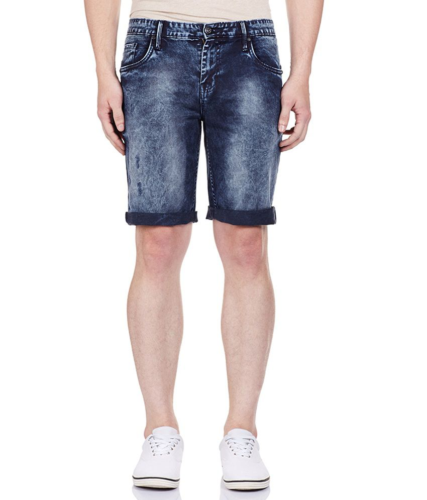 Bandit Navy Men's Casual Slim Shorts