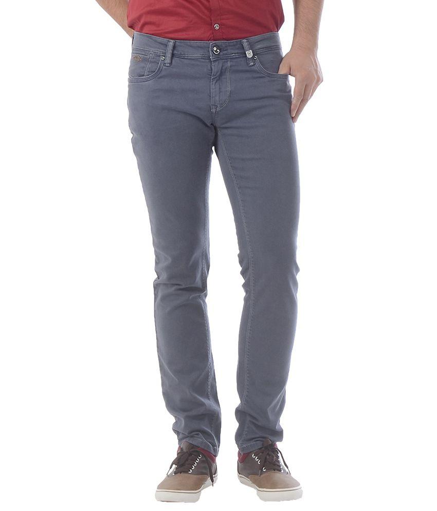Lawman Grey Slim Fit Jeans