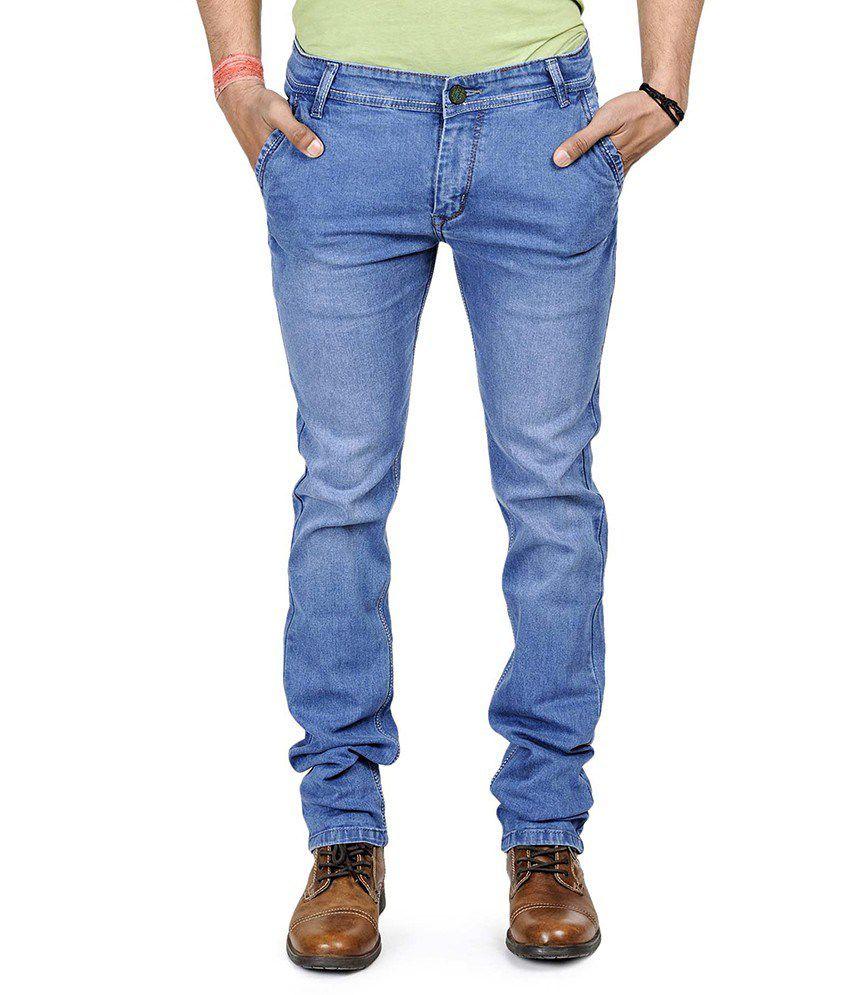 Neeraj Fashions Blue Regular Fit Jeans- Set Of 12