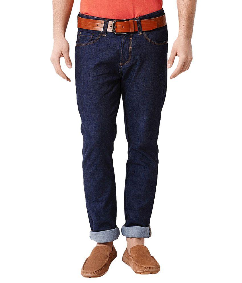 Koutons Blue Regular Fit Jeans