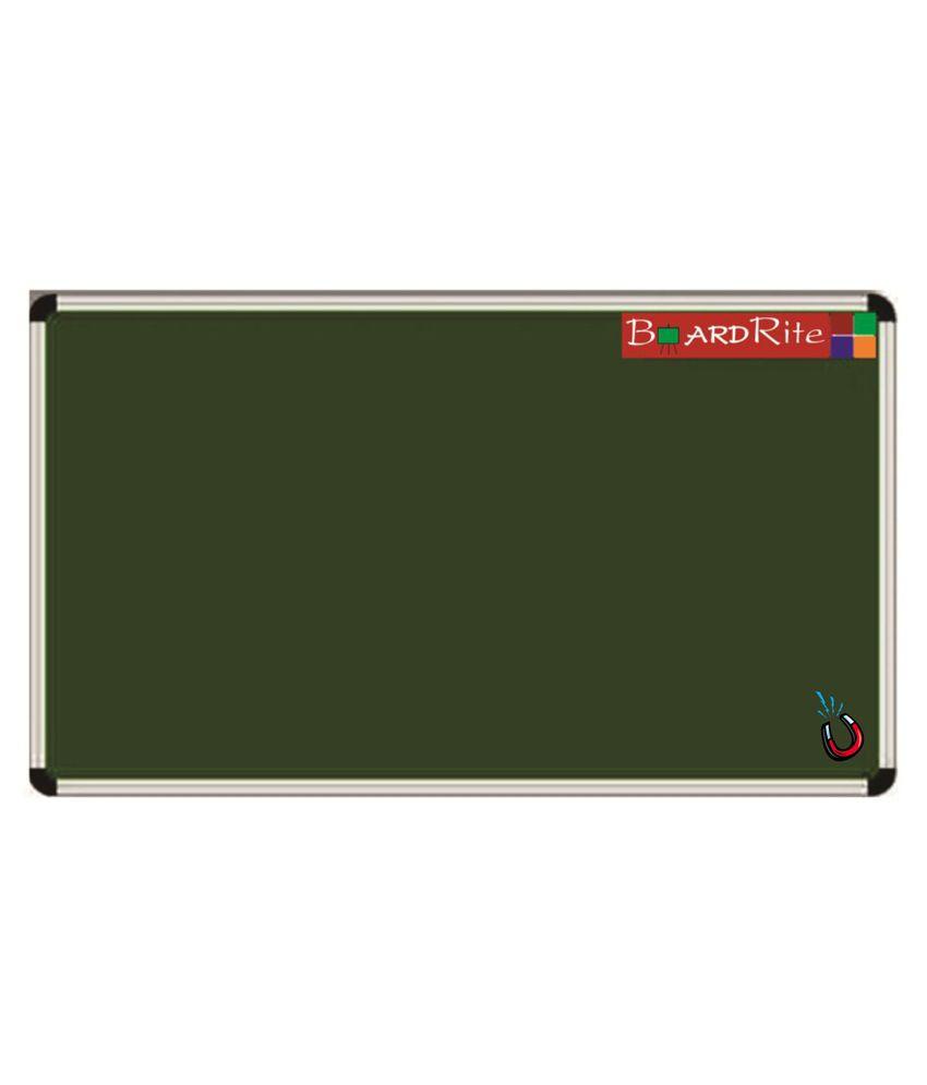 BoardRite Premium Magnetic Green Chalk Board 5 feet x 4 feet