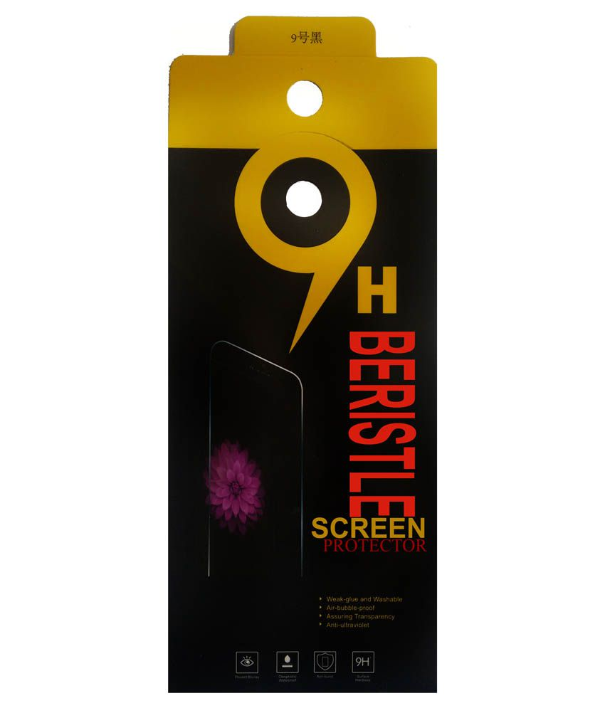 Bristle Tempered Glass Screen Guard For Sony Xperia ZL