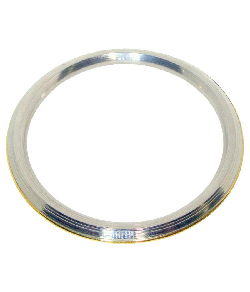 H S And Company Silver Casual Hit Bangle