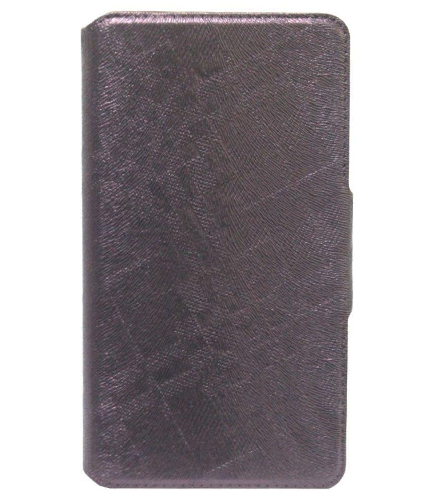Jo Jo Flip Cover With Silicon Holder For Xiaomi Hongmi 1S - Dark Brown