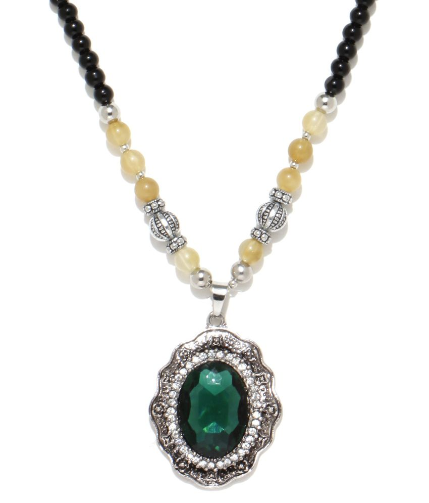 Fasaal Green Necklace