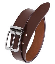 Hornbull Brown Formal Belt For Men