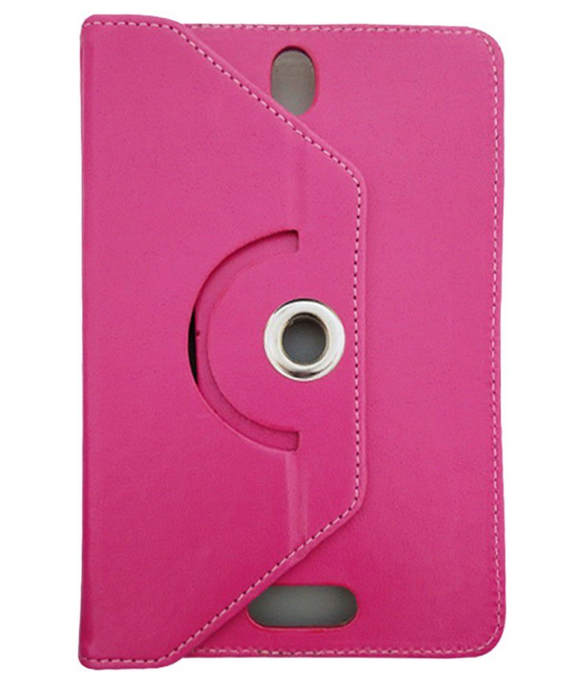 Fastway Rotating Flip Cover for Icemobile G2 Tablet - Pink