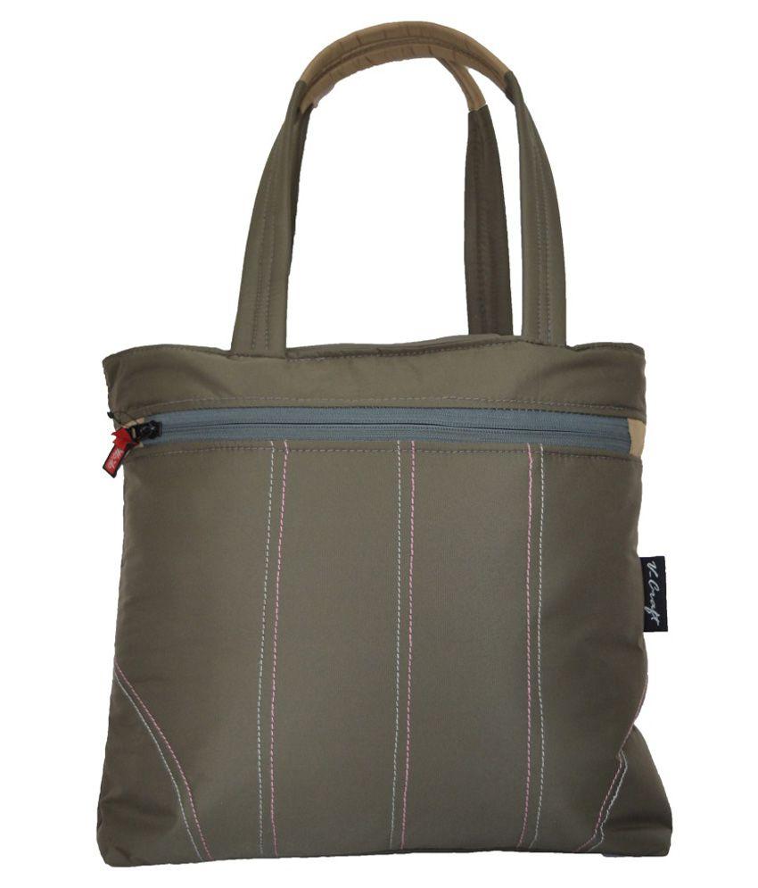 Fortune Enterprises Gray Shoulder Bag
