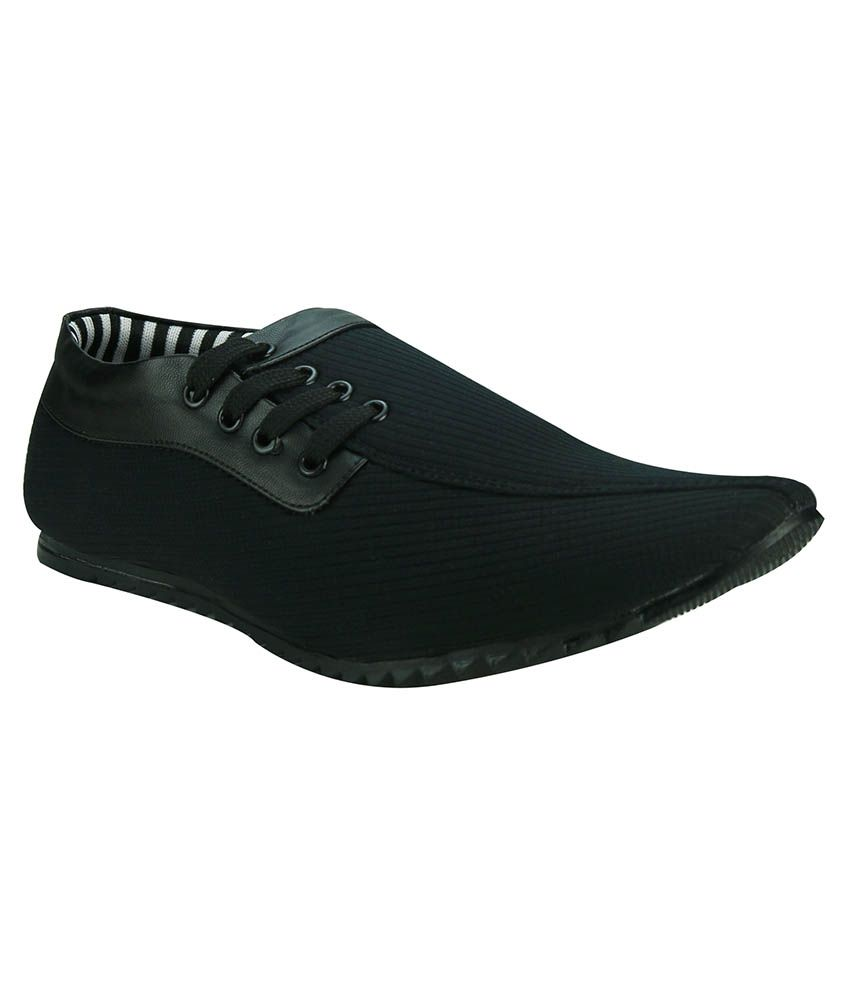 Azazo Black Loafers