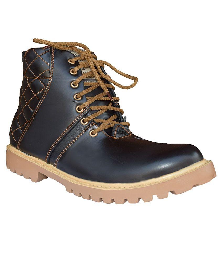 JK Port Black Boots