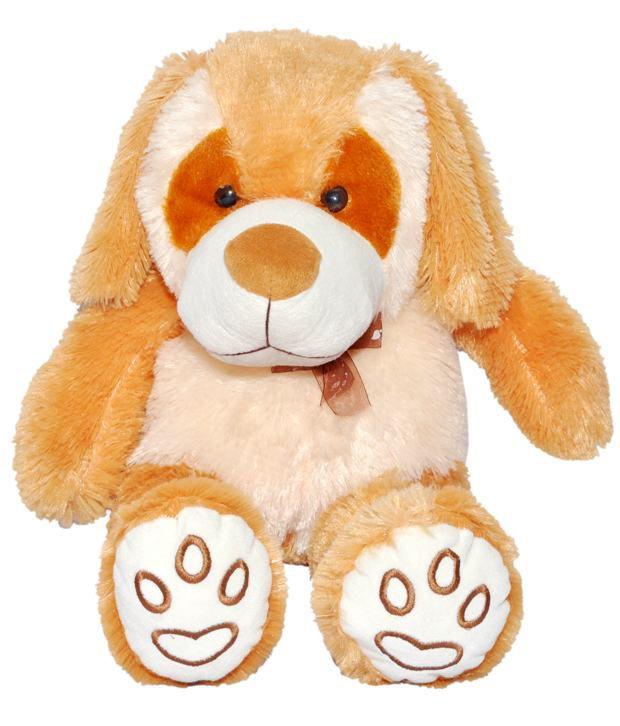 Joey Toys Butter  amp; Orange Heaven Dog Stuffed Toy   55 cm
