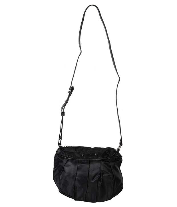 3249fc3517f2 Mango Black Sling Bag - Buy Mango Black Sling Bag Online at Best Prices in  India on Snapdeal